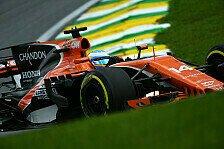 Formel 1 Brasilien - McLaren überzeugt: Beste Rennpace 2017