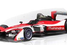 Formel E: Nick Heidfelds neues Mahindra-Auto präsentiert