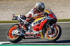 MotoGP Valencia 2017: Marquez im 3. Training klar vor Dovizioso