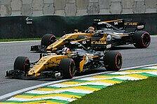 Formel 1, Brasilien 2017: Enger Vierkampf im Mittelfeld