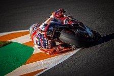 MotoGP Valencia 2017: Marquez diktiert im FP4, Dovizioso auf 5
