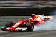 Formel 1 Brasilien: Kimi Räikkönen verwirrt wegen Ferrari-Funk