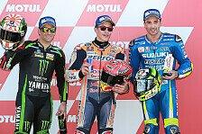 MotoGP Valencia - Marquez, Iannone, Zarco in Reihe 1: Kracht's?
