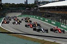 Formel 1 Brasilien 2018: Die heißesten Fragen vor dem Rennen
