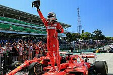 Formel 1 Brasilien 2017: Vettel gewinnt vor Bottas & Räikkönen