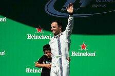 Formel 1: Massa mit Gala-Vorstellung bei Brasilien-Abschied