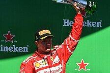 Formel 1 Brasilien: Wie Kimi Räikkönen Lewis Hamilton abwehrte