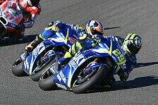 Kein MotoGP-Podium 2017: Suzuki 2018 wieder mit Zugeständnissen