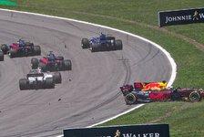 Formel 1 Brasilien: Keine Strafe für Startcrash mit Ricciardo