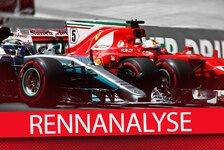 Formel 1 Rennanalyse Brasilien: Vettels vier Sieg-Faktoren