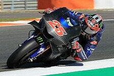 MotoGP Test Valencia: Yamaha zeigt radikale neue Verkleidung