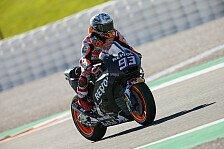 MotoGP-Test Valencia 2017: Marquez toppt Test mit Bestzeit