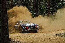 Rallye Australien 2017: Bestzeit für Neuville im Shakedown