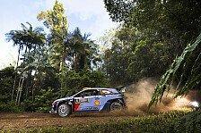 Rallye Australien 2017: Hyundai-Pilot Andreas Mikkelsen führt