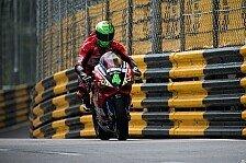 Macau Motorrad Grand Prix 2017: Horror-Crash sorgt für Abbruch