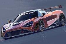 McLaren: Neuer GT3-Rennwagen für 2019 auf Basis des 720S
