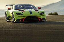 Aston Martin: Vantage GTE für die WEC-Saison 2018/19 enthüllt