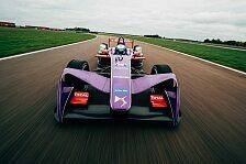 Formel E - Video: Formel E: Virgin zeigt neues Auto für 2017/18