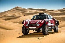 Mini bringt 2018 neues Auto für die Rallye Dakar