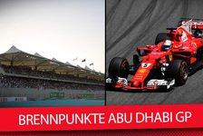 Formel 1: Die Brennpunkte beim Finale 2017 in Abu Dhabi