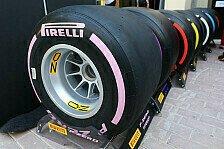Formel 1 2018: Pirelli präsentiert gleich zwei neue Mischungen