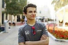 McLaren-Junior Norris: Formel 2 2018? Ich will sofort den Titel