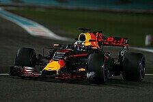 Formel 1 Abu Dhabi 2017: Ricciardo zeigt Grosjean Stinkefinger