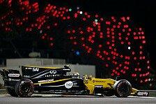 Formel 1 Abu Dhabi 2017: Renault und das Hindernis Force India