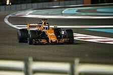 Formel 1 Abu Dhabi 2017: McLaren bestätigt Aufwärtstrend