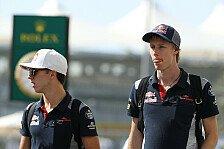 Formel 1 - Video: Toro Rosso begleitet Hartley und Gasly auf dem Weg zum Finale