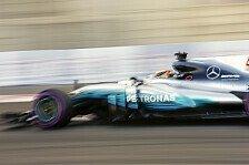 Formel 1, Abu Dhabi 2017: Hamilton klar vor Ferrari