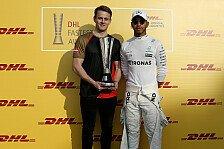 Formel 1: Hamilton und Mercedes mit DHL Awards ausgezeichnet