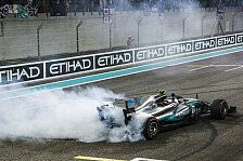 Formel 1 Abu Dhabi: Bottas trotz Hattrick-Highlight enttäuscht