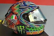 Valentino Rossi: Sein neuer Helm für die MotoGP-Wintertests