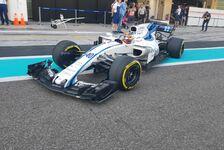 Formel 1 Testfahrten Abu Dhabi Live: Robert Kubica im Williams