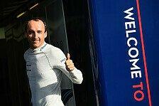 Formel 1, Kubica-Test: Nicht einhändig, aber mit Einschränkung