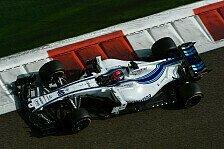 Formel 1 Test Abu Dhabi Tag 2 Live: Letzte Chance für Kubica