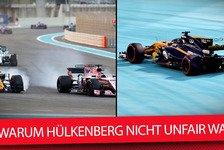 Formel 1 - Video: Nico Hülkenberg unfair? 3 Gründe, warum Force India falschliegt