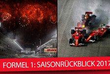 Formel 1 - Video: Formel 1 2017: Der große Saisonrückblick mit einer F1-Legende