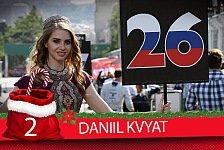 Formel-1-Zeugnis: Daniil Kvyats Saison-Fazit 2017
