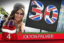 Formel-1-Zeugnis: Jolyon Palmers Saison-Fazit 2017