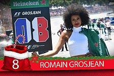 Formel-1-Zeugnis: Romain Grosjeans Saison-Fazit 2017