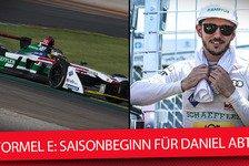 Formel E - Video: Audi-Pilot Daniel Abt: Kann dem Feind in die Augen schauen