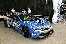 Formel E: So cool sieht das BMW i8 Safety Car aus