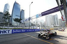 Formel E - Video: Formel E: Vergne holt Hongkong-Pole im Dreher
