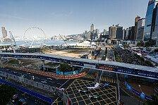 Formel E Hongkong 2017: Buemi lässt es im Training fliegen