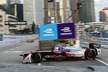 Formel E Hongkong 2017: Edoardo Mortara schmeißt Debüt-Sieg weg