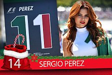 Formel-1-Zeugnis: Sergio Perez' Saison-Fazit 2017