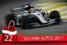 Formel-1-Zeugnis: 2017er Autos im schonungslosen Check