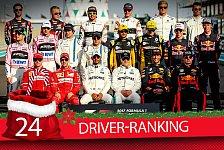 Formel-1-Zeugnis: Das ist der beste Fahrer der Saison 2017!